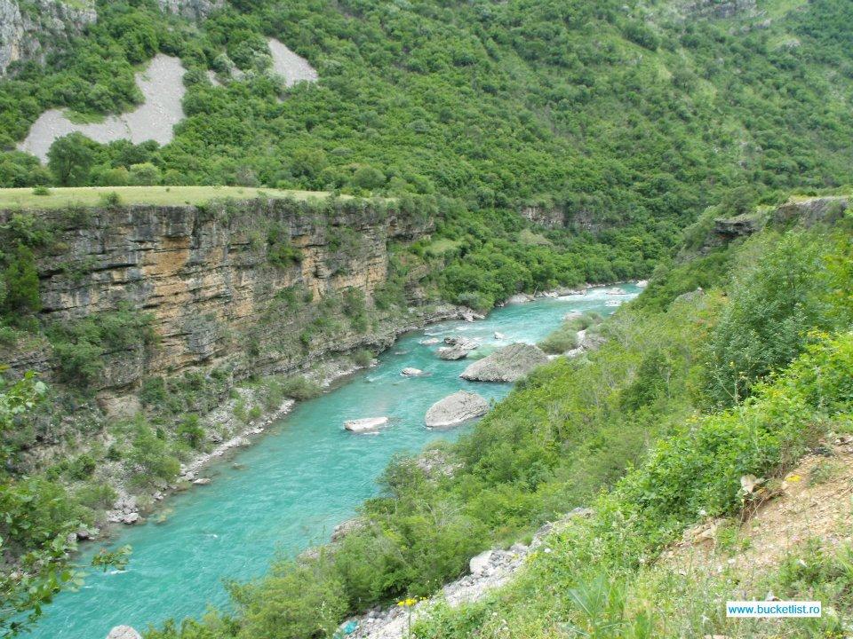 Canionul Moraca - Canionul Pivei