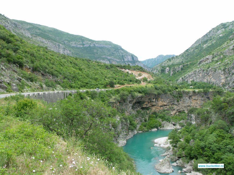 Canionul Pivei- Canionul Moraca Muntenegru
