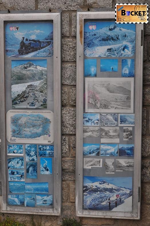 Alpin roads Furka obiectivele turistice aferente