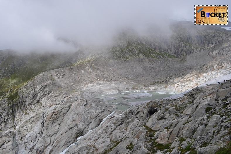 Alpin roads Ghetarul si lacul.