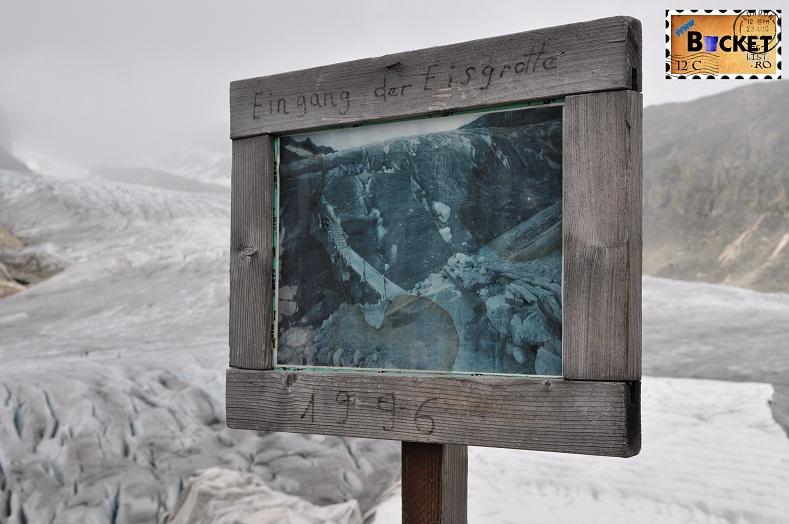 Alpin roads Intrarea in ghetar introduc ca obiectiv turistic din 1996