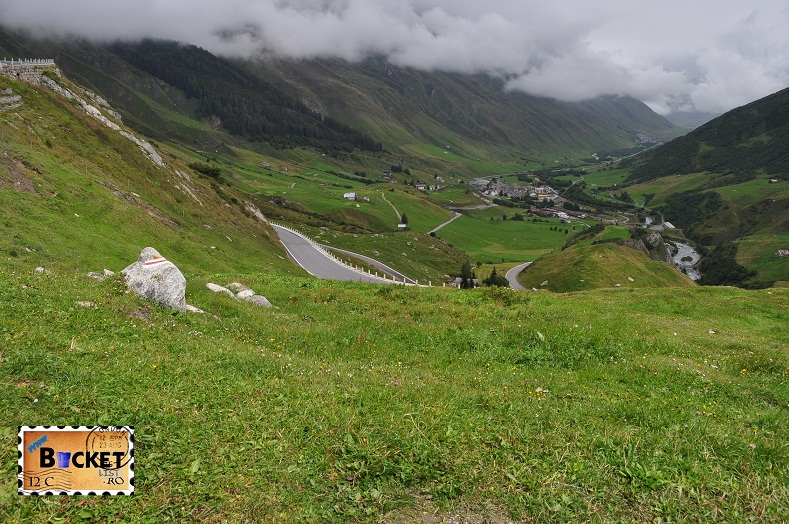 Alpin roads Oberalpp Pass