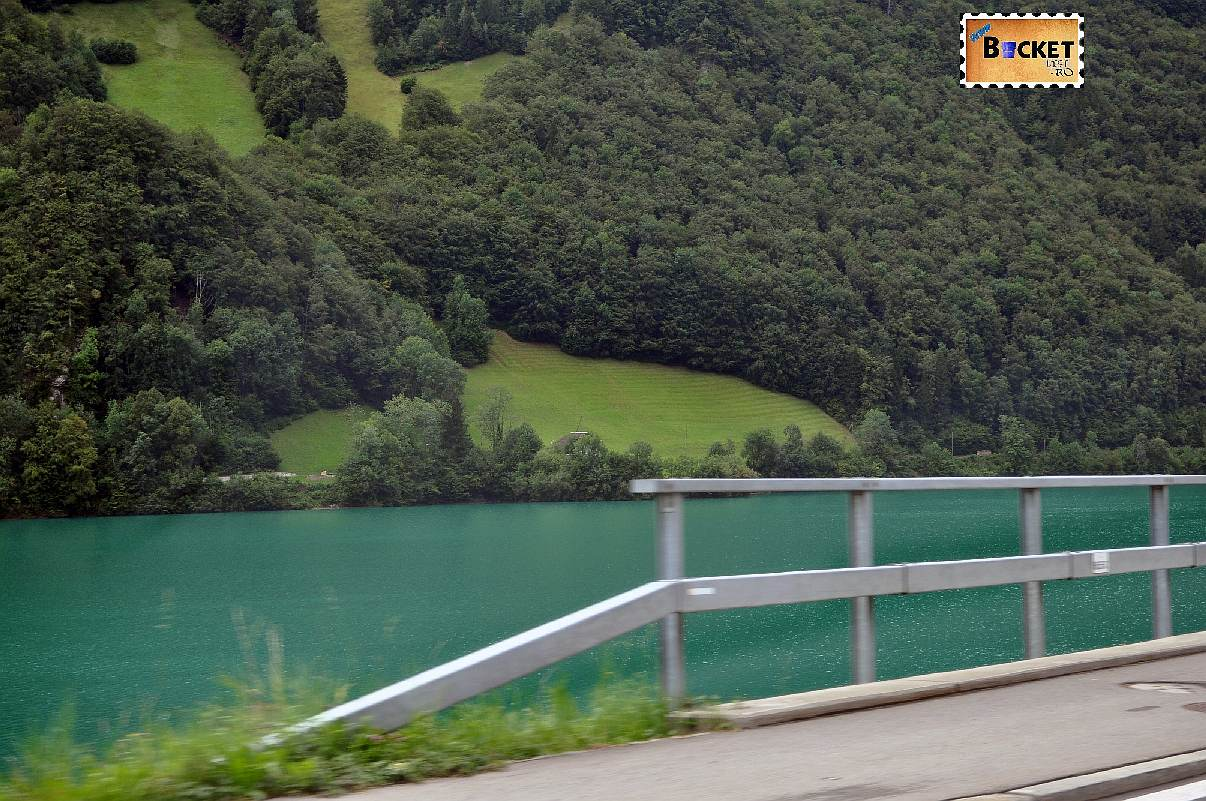 Samensee (Lacul Samen vazut pe ploaie)