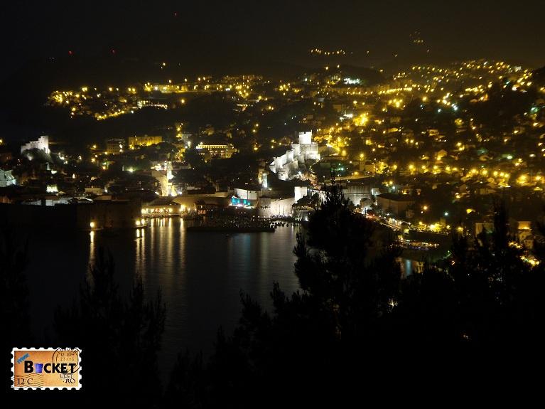 Dubrovnik noaptea