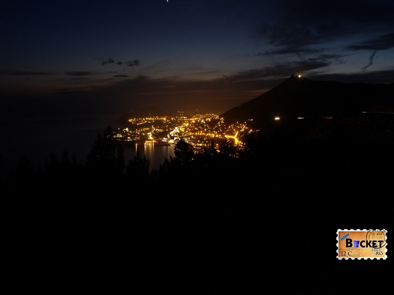 Dubrovnik si varful Srd  By night