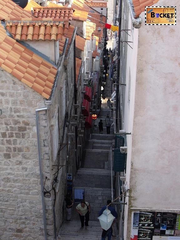 stradute prin Dubrovnik