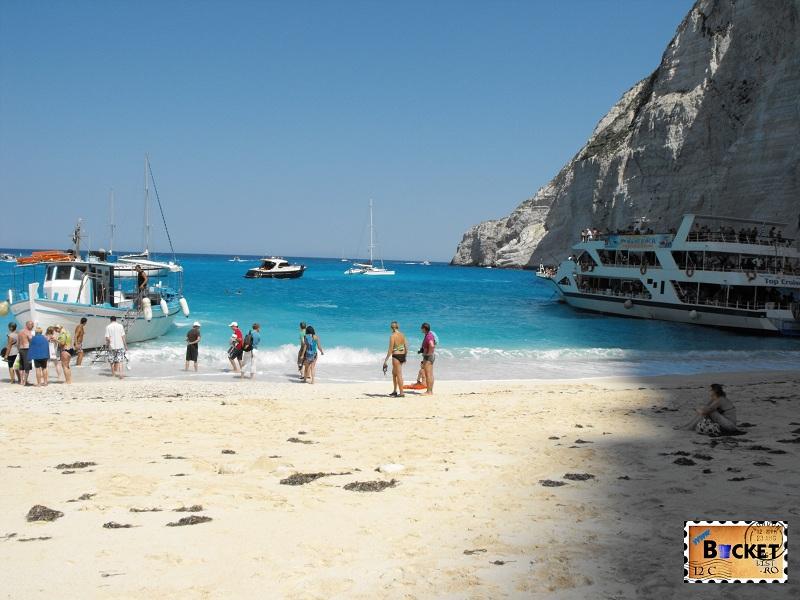 Smugglers Cove Zakynthos - Plaja Navagio