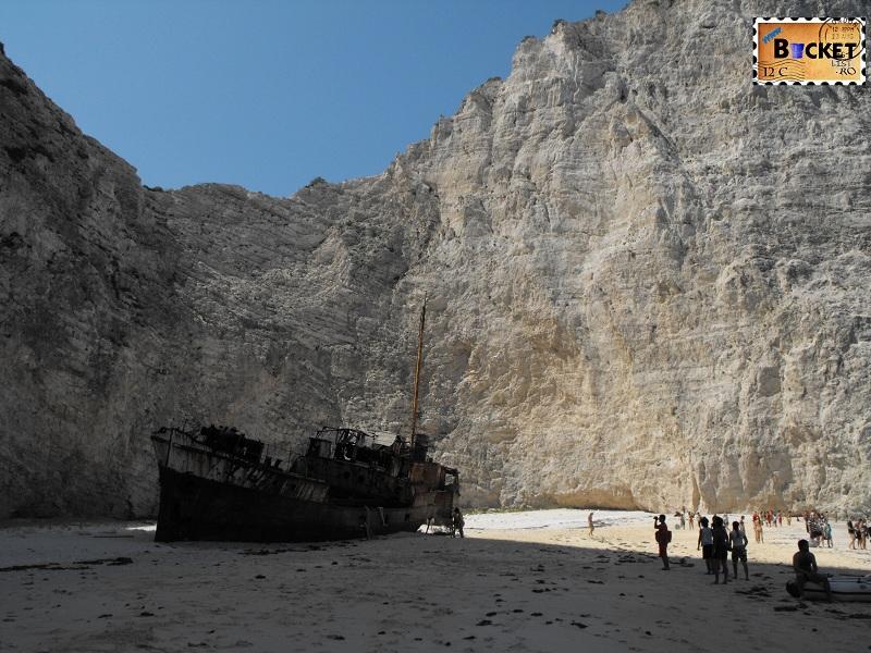 Smugglers Cove Navagio Shipwreck - Plaja Navagio