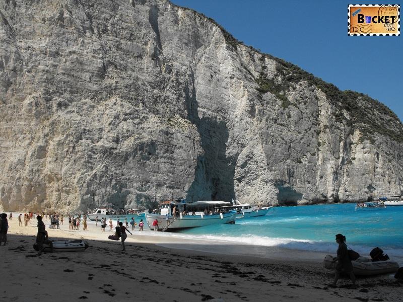 Navagio bay - Plaja Navagio