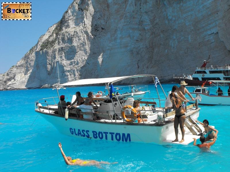 Glass Boat - Plaja Navagio