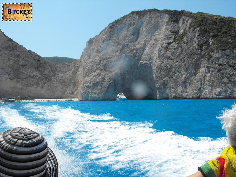 Smugglers Cove at Zakynthos - Plaja Navagio