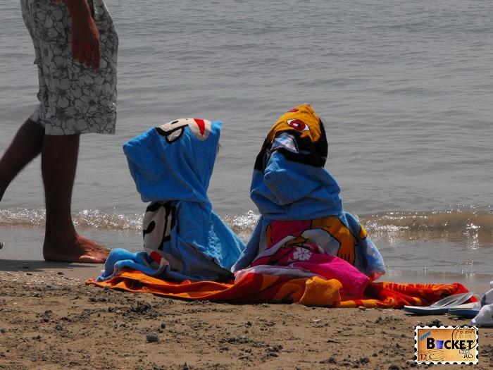 pitici la plaja