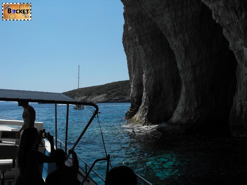 Apa albastra - Blue Caves Zakynthos