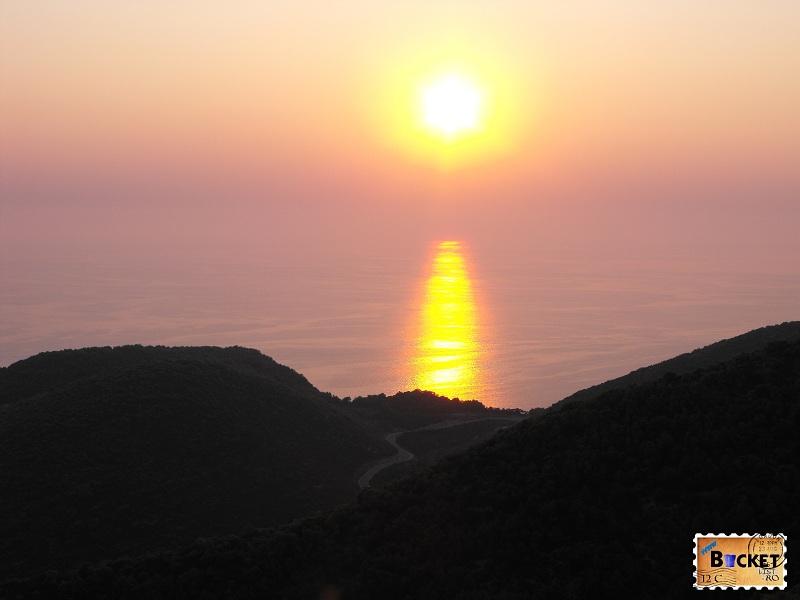 Apus de soare Porto Vromi Zakynthos