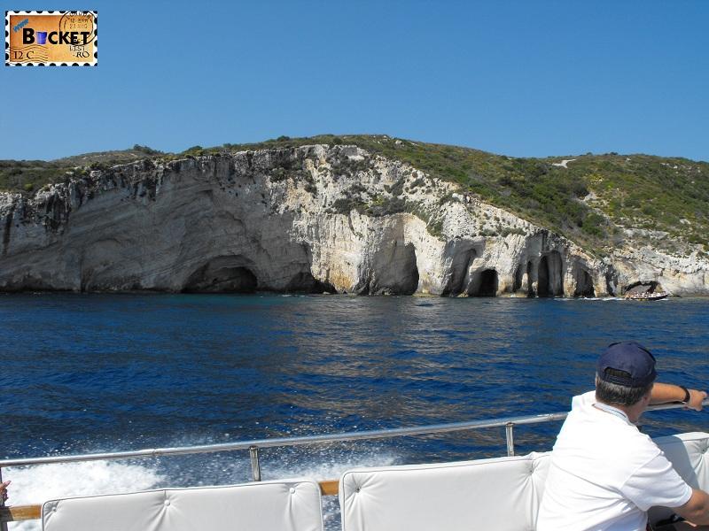 Blue Caves in drum spre Plaja Navagio