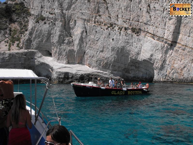 Blue caves Skinari Laguna