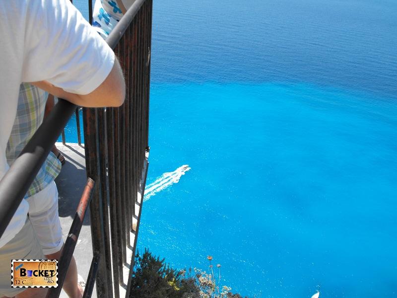 Blue water on Zakynthos
