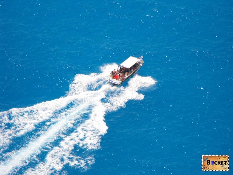 Boat on Navagio  Zakynthos