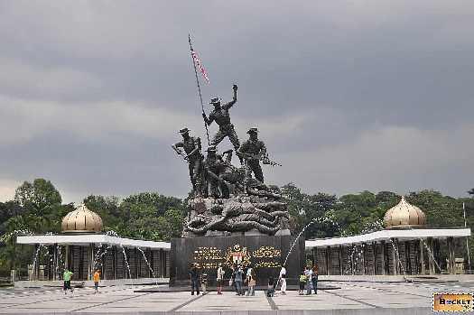 Kuala Lumpur - Tugu Negara monumentul național