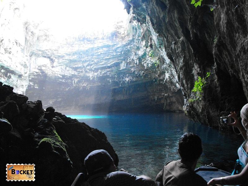 Lacul Melissani Kefalonia