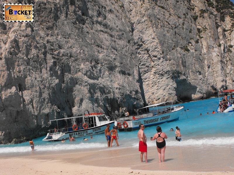 Navagio boat - Plaja Navagio