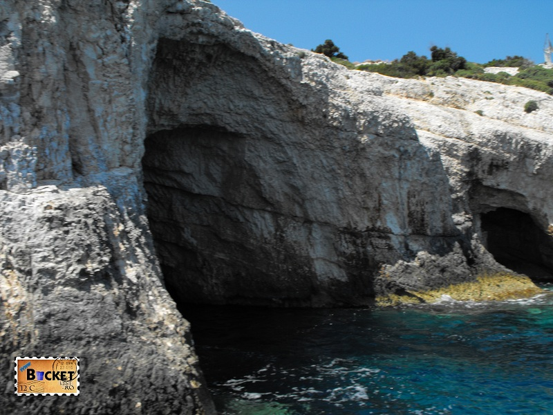 Blue caves - Pesterile Albastre Skinari Zakynthos