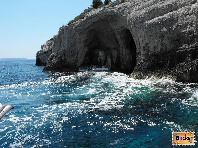 Pesterile Albastre Zakynthos Grecia