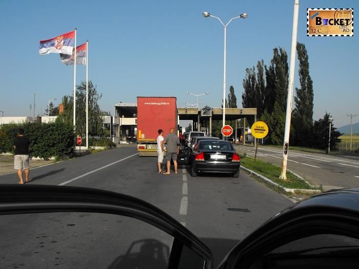 Punctul de Trecere a Frontierei Stamora - Moravita - Drumul spre insula Zakynthos
