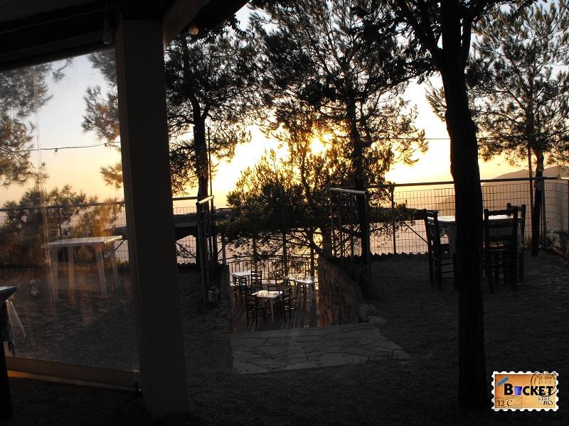 Terasa taverna Kambi Zakynthos