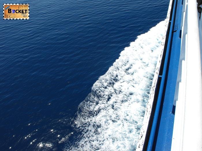 The blue sea  - Drumul spre insula Zakynthos