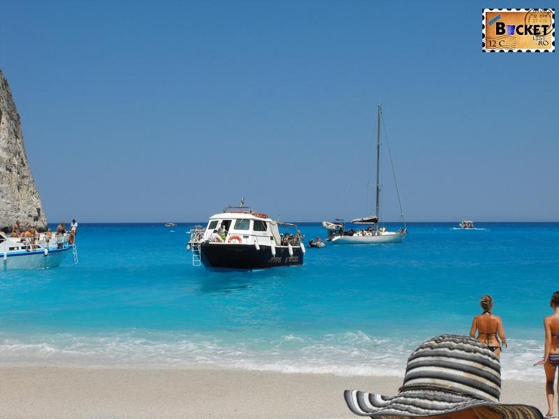 barca la Navagio - Plaja Navagio