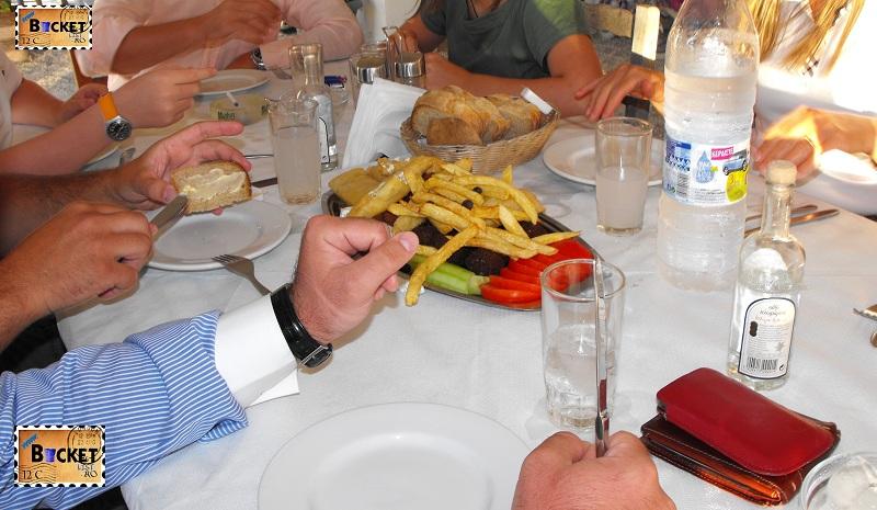 platouri tradiţionale grecesti -Taverne Zakynthos