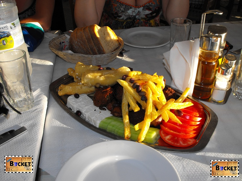 platouri tradiţionale grecesti Taverne Zakynthos