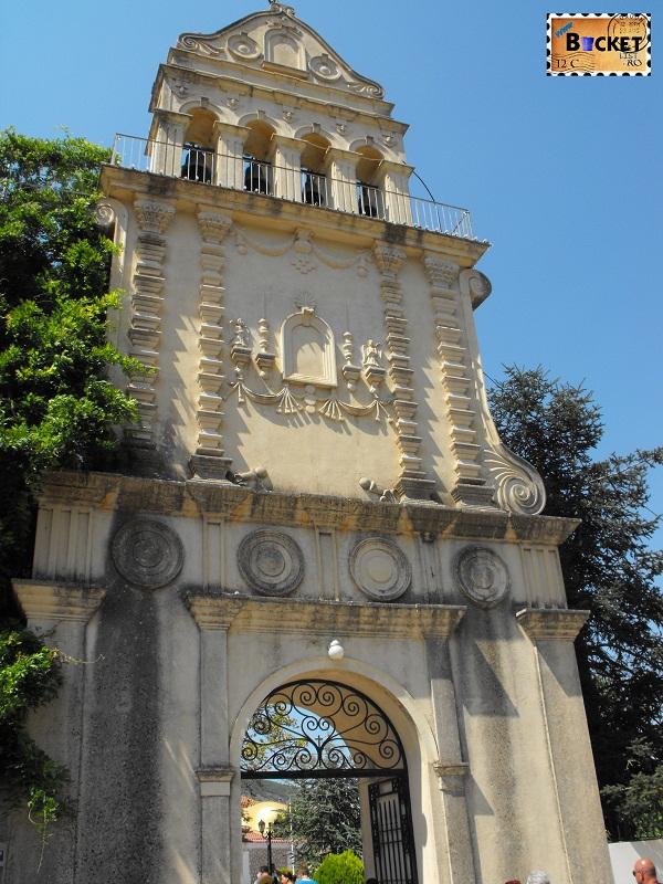 poarta - Manastirea Sfantul Gherasim - Insula Kefalonia