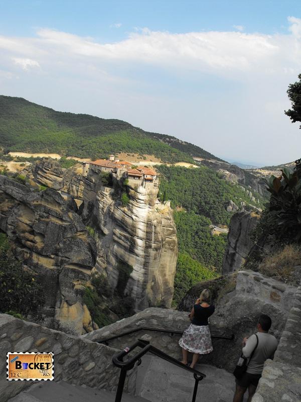 Manastirea Varlaam vazuta din Marea Meteora