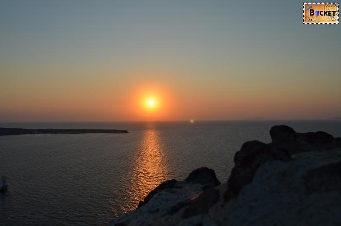 Apus de soare Oia Santorini