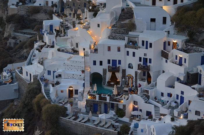 Hotel Fanari Villas Oia Santorini
