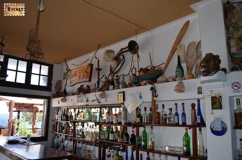 Kamari Hook Bar interior