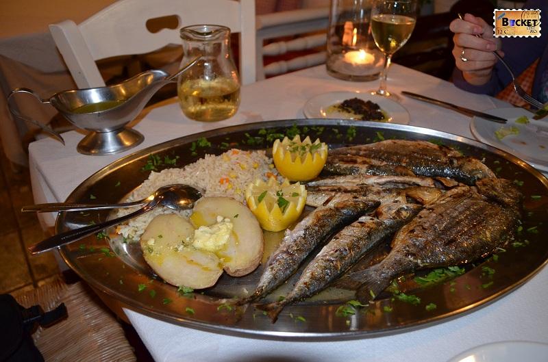 Kamari- Taverna Alexander -Mix Fish