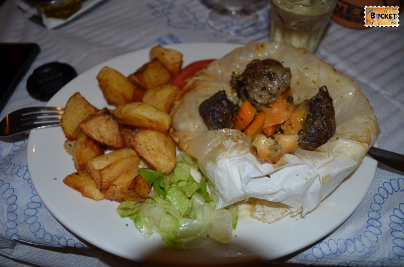 Kamari - Taverna Sellada -Kleftiko