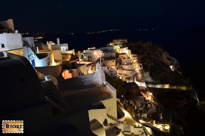 Kasteli Agios Nikolaos - Oia Santorini