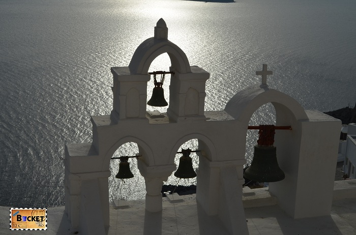 Oia Santorini - clopotnita