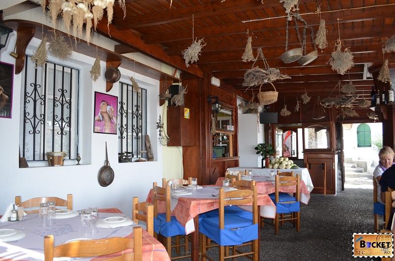 Taverna Kallisti - terasa