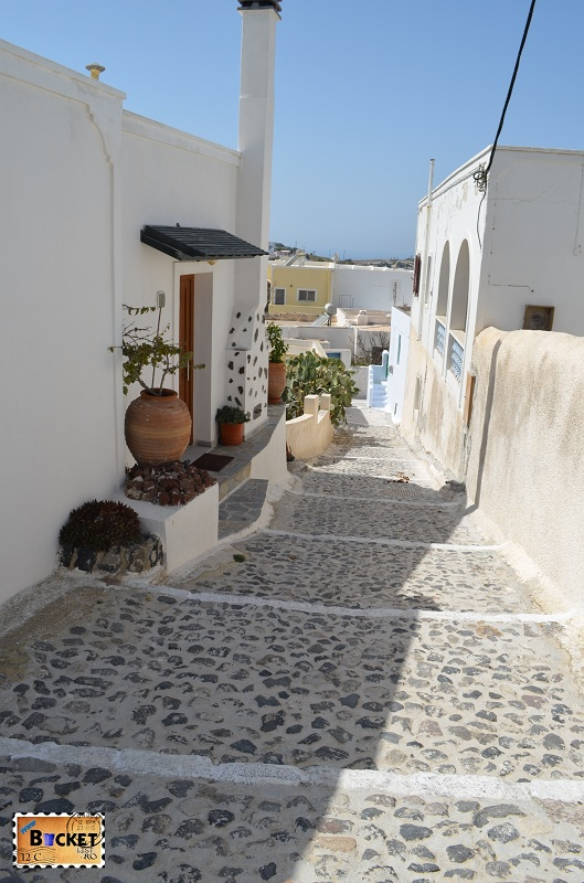 strada din Pyrgos Kallistis