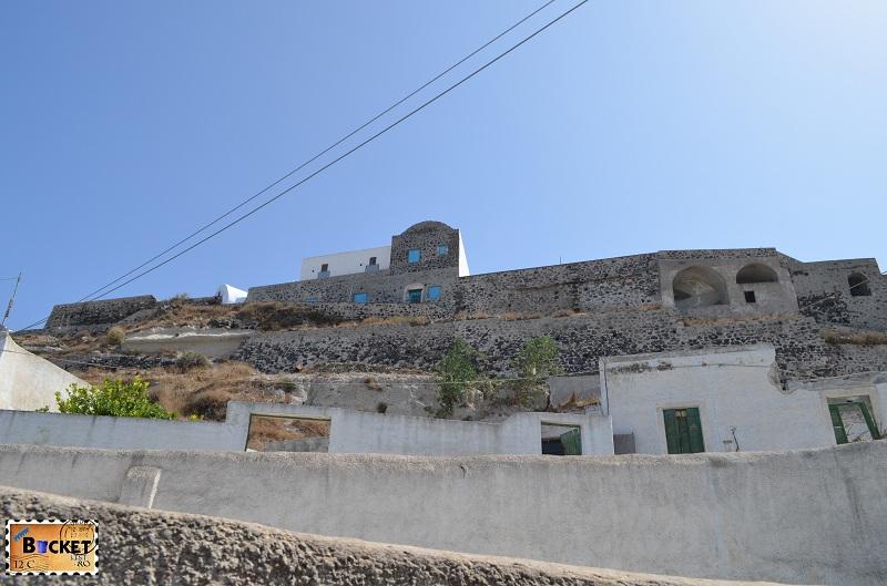 vechiul castel din Pyrgos Kallistis