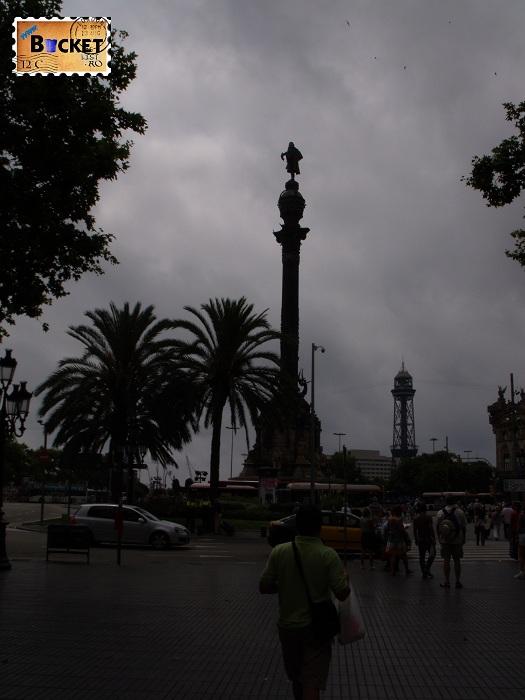 Cristofor Columb Barcelona Rambla