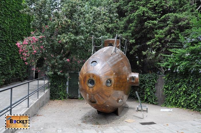 Submarinul Ictineo I - Muzeul Maritim  Barcelona
