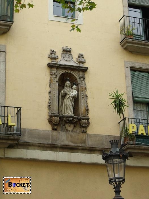 Fatada Rambla Barcelona