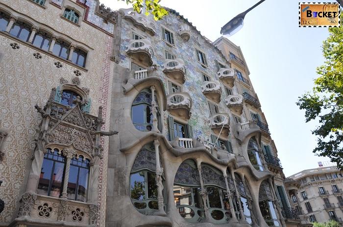 Barcelona Gaudi - Casa Batllo - Top 10 destinaţii
