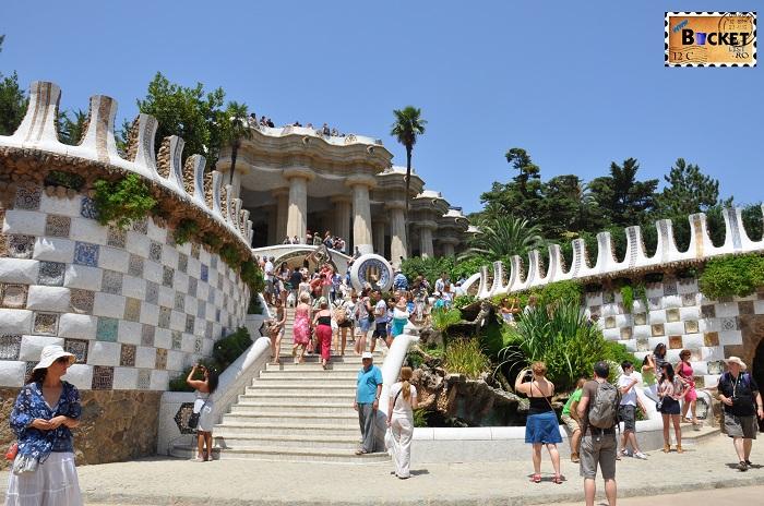 Barcelona Gaudi Parc Guell - Top 10 destinaţii